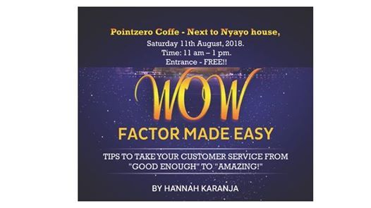 Wow Factor Made Easy