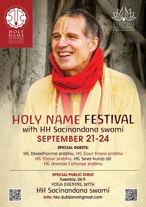 Holy Name Festival with Sacinandana Swami