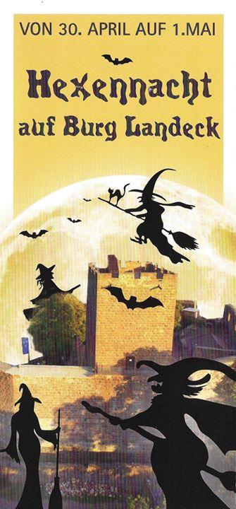 Hexennacht auf der Burg Landeck at Burgschänke Landeck, Klingenmünster