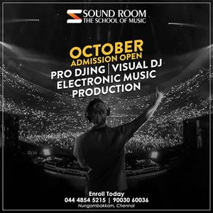 Soundroom DJ Academy (October Admission 2018)