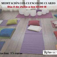 Meditacin con Cuencos de Cuarzo