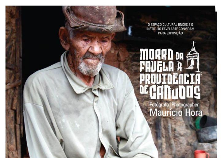 """Resultado de imagem para exposição fotográfica """"Morro da Favela à Providência de Canudos"""