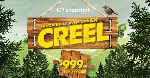 Aventura en Creel con Snapshot.