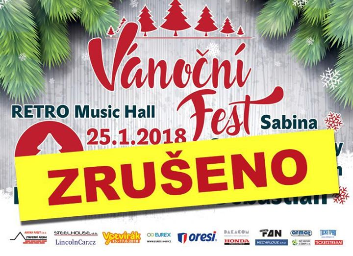 Vnon fest - Praha  Retro Music Hall  25.1.2018