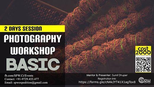 Photography Workshop - BASIC