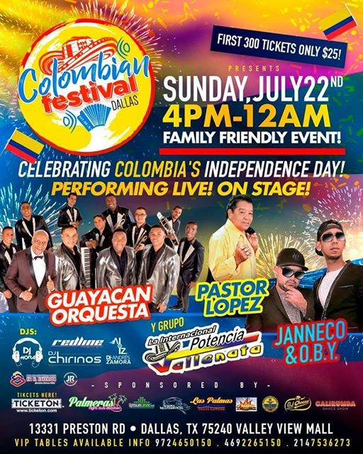 Celebrating Colombias Independence Day