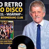 Yoko Retro Disco  Okt 22 - Vasrnap  Szolnok  Boomerang Club