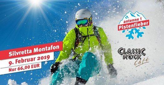 Classic Rock Caf Skiausfahrt - Montafon - Antenne1 Pistenfieber