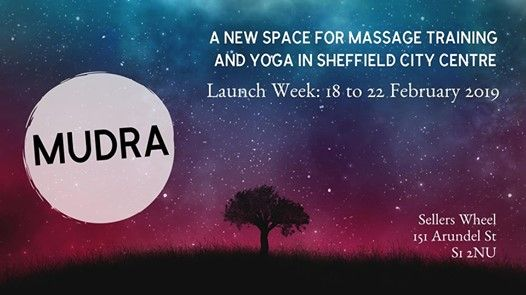 MUDRA Launch Week Free Yoga Classes & Massage Tasters
