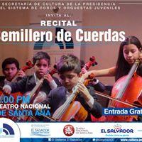 Recital Semillero de Cuerdas 2017