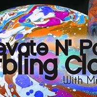 Elevate N Paint Marbling Class With Mr. Mizu