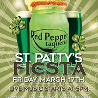 Red Pepper Taqueria - St. Patricks Day Fiesta