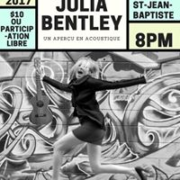 Julia Bentley a la Librairie St-Jean Baptiste