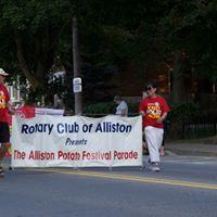 Rotary Alliston Potato Festival Parade