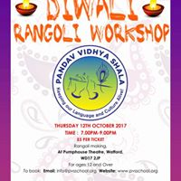 Diwali Rangoli Workshop