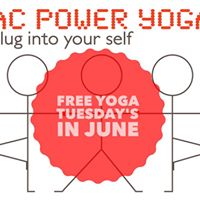 Free Yoga Tuesdays in June