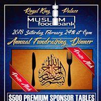 Muslim Food Bank Annual Fundraising Dinner 2018
