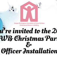 PWB Christmas Party &amp Officer Installation