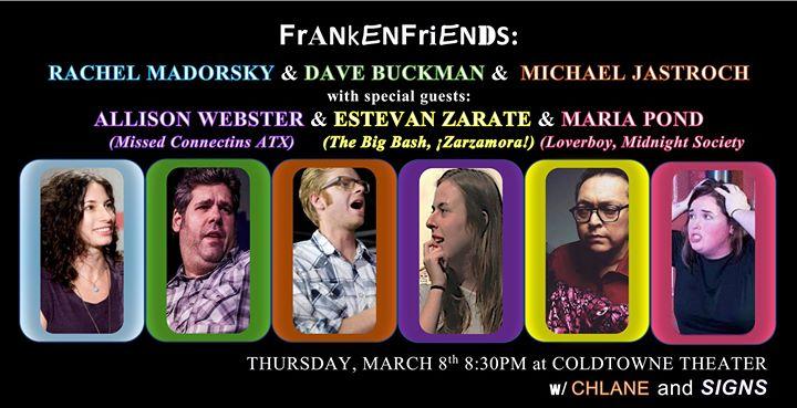 Frankenfriends w Allison Webster Chuy Zarate & Maria Pond