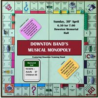 Downton Bands Musical Monopoly