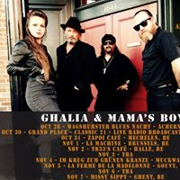 Release Show (BXL) - La Machine Ghalia &amp Mamas Boys