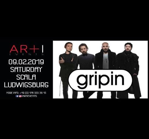 Gripin live  with afterparty