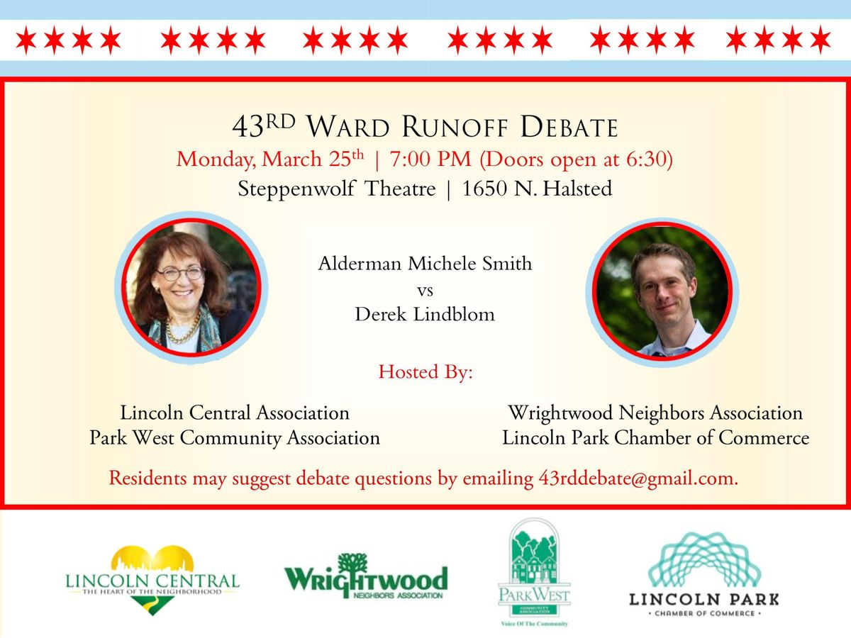43rd Ward Aldermanic Run-off Debate