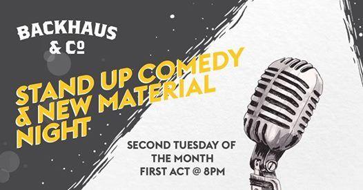 Comedy at Backhaus&Co