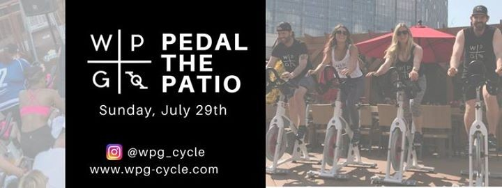 WPG Cycle Pedal the Patio