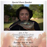 Lynn Fritz as Guest Speaker