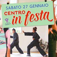 Centro in Festa lezioni di prova di yoga e arti marziali