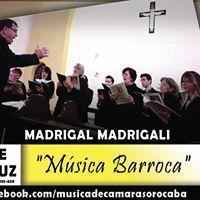 Madrigal Madrigali - Msica Barroca