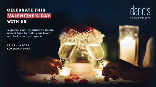 Valentines Day Celebration at Darios