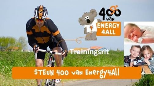 De 400 van Energy4All trainingsrit 2