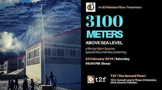 3100 Meters Above Sea Level - An IEI Pakistan Documentary