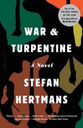 Book Club War and Turpentine by Stefan Hertmans