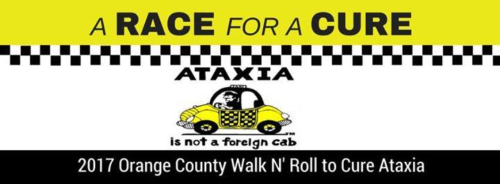 Orange County Walk N Roll to Cure Ataxia