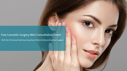 Free Cosmetic Surgery Mini Consultations Mr Sarmad Tamimy at