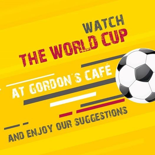 The World Cup at Gordons Caf