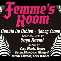 Femmes Room w Claudia De Chalon Harry Cross