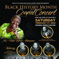 City of Cleveland Black History Month Gospel Concert