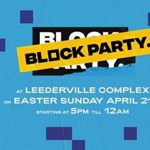 Block Party  Leederville  Easter Sunday