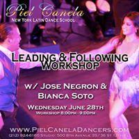 Leading &amp Following Workshop for dancers [Pt. 1]
