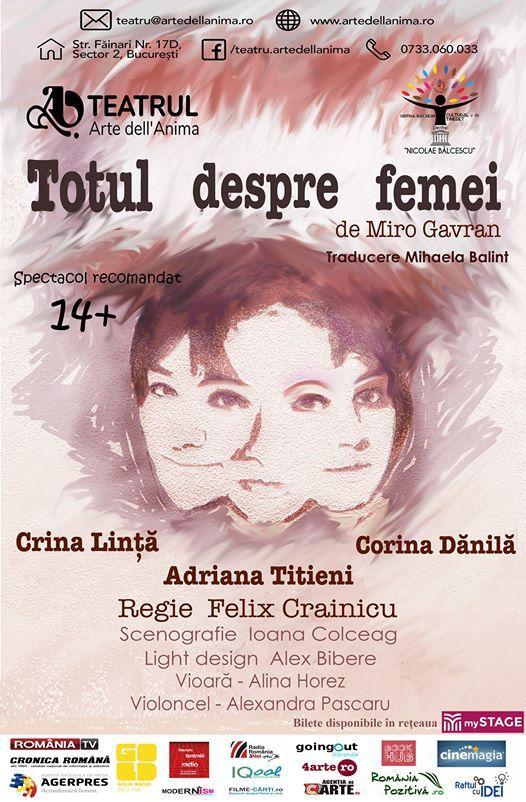 Totul despre femei la Teatrul Arte dell Anima