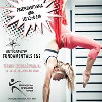 Predstavitvena ura Antigravity Fitness vadbe za intruktorje