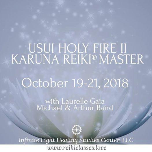 Holy Fire II Karuna Reiki Master