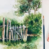 Garden Shed Watercolours with Yean Ching