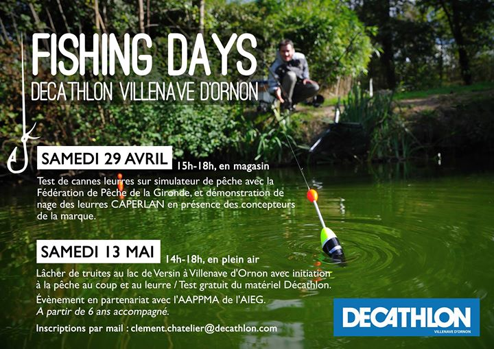Fishing Days 1 En Magasin At Decathlon Villenave D Ornon