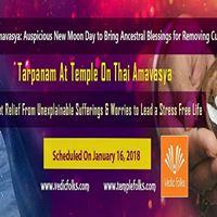 Tarpanam on Thai Amavasya
