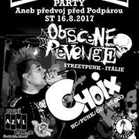 Streetpunk &amp Oi Party Obscene Revenge [It]  Choix [Ru]